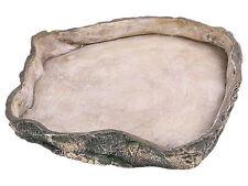 Large Reptile Rock Bowl Vivarium Terrarium Food or Water Bowl