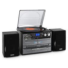 [RECONDITIONNÉ] MICRO CHAINE HIFI MULTIMEDIA AUNA LECTEUR CD USB RADIO NUMERISAT
