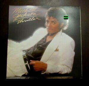 """1982 MICHAEL JACKSON """"Thriller"""" Vinyl Album!!! EX/NM Condition!!!"""
