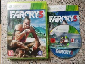 Far Cry 3 (Microsoft Xbox 360, 2012) DISC,MANUAL & ARTWORK ONLY **