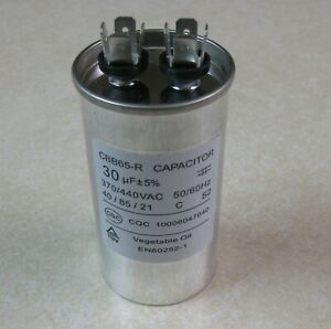 Capacitor 30uF for Pentair WF-28 Pool Pump Century 2HP Motor Start