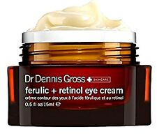 Dr Dennis Gross Skincare Ferulic + Retinol EYE CREAM 0.5 OZ FULL SIZE!  NEW- BOX