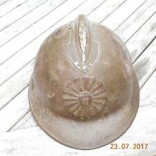 casque adrian modele 26 peruvien insigne du pérou