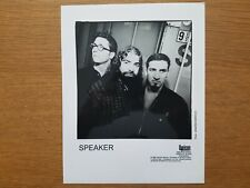 SPEAKER 8x10 BLACK & WHITE Press Kit Publicity Photo 90's ALT ROCK Capricorn