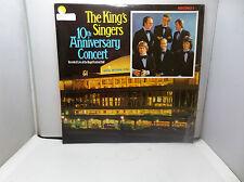 KING'S SINGERS 10th ANNIVERSARY CONCERT RECORD 1 KS1001 EMI  VINYL LP