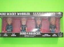 New Sons of Anarchy collectors edition bobble head SET Jax Clay Gemma Opie
