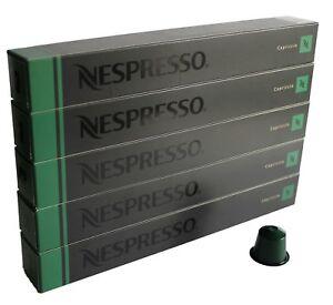 50 ORIGINAL NESPRESSO COFFEE CAPSULES PODS - CAPRICCIO (Intensity: 5)