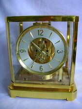 VERY EARLY JAEGER LECOULTRE ATMOS CLOCK CALIBER 519 REPLATED AND SERVICED