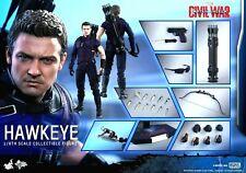 Hot Toys 1/6 Hawkeye Capitán América: la Guerra Civil MMS 358 Movie Masterpiece Figura