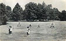 A View of Archery at Camp Washington Lodge, Bellport L.I. Ny