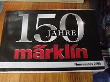 8µ? Catalogue Marklin 150 Jahre Nouveautés 2009 en français 184 pages