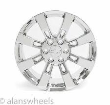 "4 NEW Chevy Silverado Avalanche Chrome 20"" Wheels Rims Lugs Free Shipping 5409"