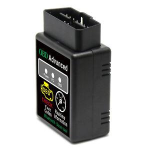 ELM327 V2.1 OBD 2 OBD-II Cars Diagnostic Interface Bluetooth Scanner Android