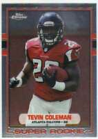 2015 Topps Chrome 1989 Super Rookie RC Topps #89-TC Tevin Coleman Falcons