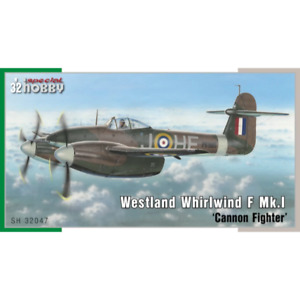 Special Hobby 32047 1/32 Westland Whirlwind Mk.I Twin Engine Fighter Plastic Mod