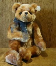 """TY Plush #5028-B YESTERBEAR BROWN, 16"""" NEW/Tag From Retail Store, Bear"""