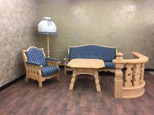 Voglauer Anno 1900 Natur Antik Landhaus Sofa Couch Garnitur 3-Sitzer Massivholz