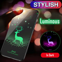 Luminous Back Cover Shock Proof Bumper Case for iPhone 6 6S 7 8 Plus X Shell Kid
