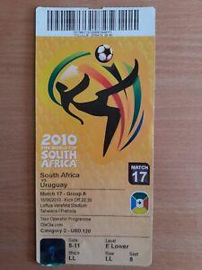 2010 World Cup. South Africa - Uruguay 0-3. Loftus Versfeld Stadium, Pretoria