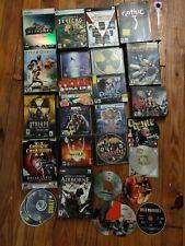 Lot Of 25 Older PC Video Games Duke Nukem Sim City Deus Ex Age Of Empires 2
