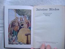 "GEORG ""ANDERSENS MARCHEN"" Weichert Berlin 1893 illustrato da Hanna Goerke"