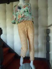 Pantalon Caroline Biss en dentellebeige rosé taille 40