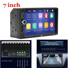 "7"" Double 2 DIN Head Unit Car Stereo MP5 Player Touch Screen BT Radio FM/AUX/USB"