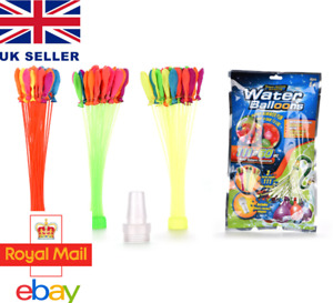 Summer Water Balloons - Kids Balloon Fight -Quick Fill - Swimming Pool Outdoor