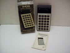 Texas Instruments Ti-1025 Electronic Calculator With Memory Led Display w/ Box