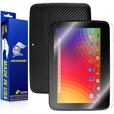 ArmorSuit MilitaryShield Google Nexus 10 Tablet Screen Protector + Black Carbon