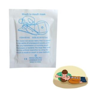 1000 pcs/pack CPR Face Shield Resuscitator mouth to mouth CPR barrier