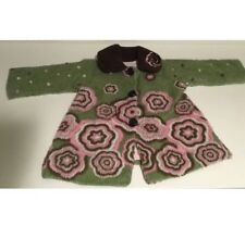 CORKY & COMPANY LITTLE GIRLS WHIMSICAL COAT SIZE 3T PINKS, GREENS & BROWN