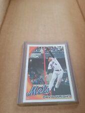 2010 Topps Baseball David Wright New York Mets base card #60
