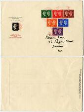 More details for gb 1940 stamp centenary fdc robson lowe env penny black + maltese cross illust.