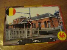 LEVAL TRAHEGNIES ( Binche ) ---- La Gare -------- Carte rare