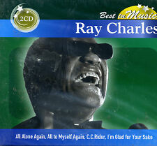 RAY CHARLES  - Best in music - 2 dischi - CD NUOVO