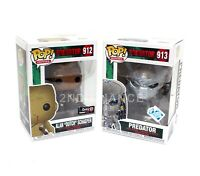 New Funko Pop Predator #913 & Dutch #912 Gamestop Exclusive Vinyl Figure (LOT OF