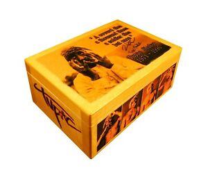 2pac Tupac Shakur wooden box, Thug Life, Death Row Records Logo trust nobody RAP