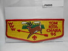 TOM KITA CHARA LODGE 96 VERTICLE YELLOW BACKGROUND   F8095