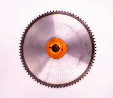80T 428 pitch sprocket and Cnc carrier for 30mm keyway axle go kart project