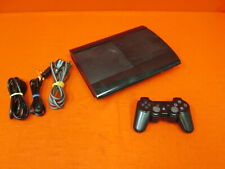 Sony PlayStation 3 40GB Superslim Video Game Console Black And Controller 0192