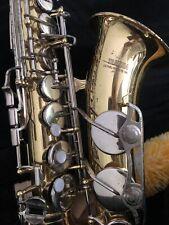 Yamaha saxophone with 2 cases.