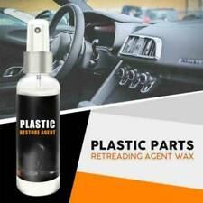 Car & Home Plastic Part Retreading Restore Agent Wax Instrument Panel Reducing~