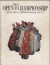 1961 U.S. OPEN Golf Championship Program
