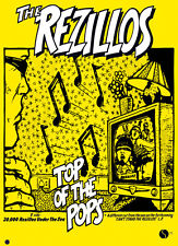 "REZILLOS -Top Of The Pops Retro Punk Poster A1 Size 84.1cm x 59.4cm - 33"" x 24"""