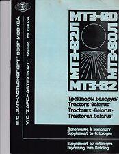 Belarus Mt3 808280ji82ji Parts Catalog Supplement Manual For Cab Amp Hydraulics