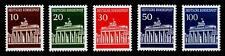 BUND 506-510, Brandenburger Tor ** kompletter Satz in Luxusqualität