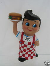 Collectible Frisch's Big Boy Bank with hamburger - Nice