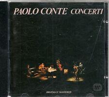 CD LIVE 18 TITRES--PAOLO CONTE--CONCERTI--1989