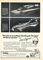 1967 Prestone Jet Wax - Protection - Classic Vintage Advertisement Ad D194